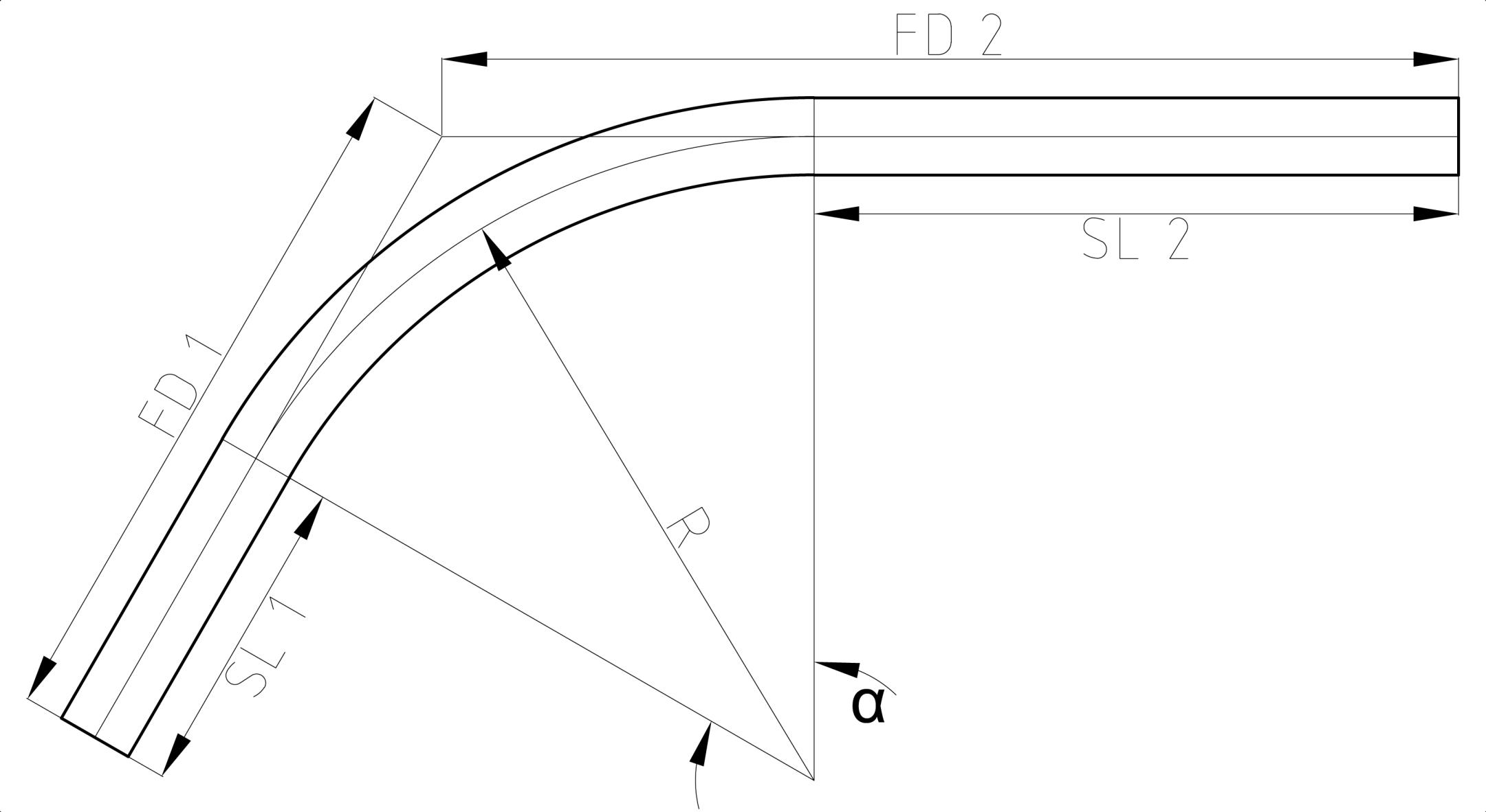 Resultado de imagen para dimension of tubing